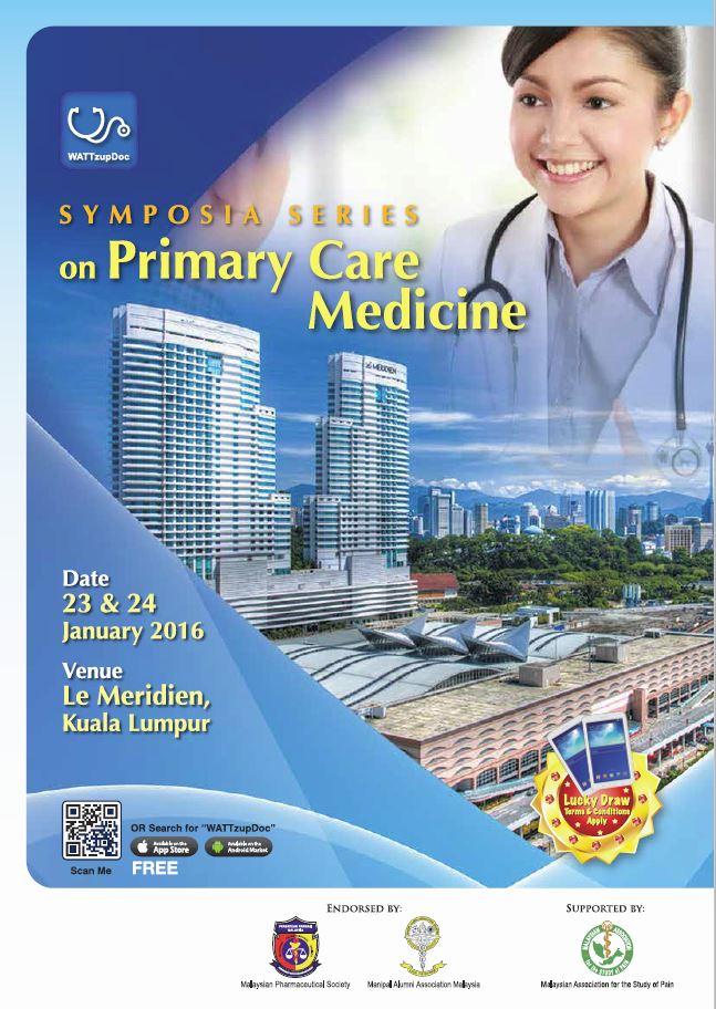 Primary Care Symposium Jan 2016