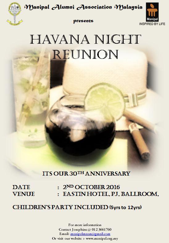 Havana Night 1st Flyer