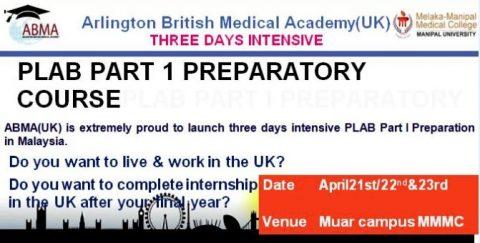 PLAB Part 1 Preparatory Course by Arlington British Medical Academy