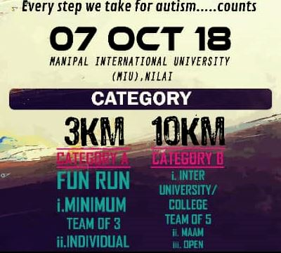 Manipal Run 2018 @ Manipal International University Campus