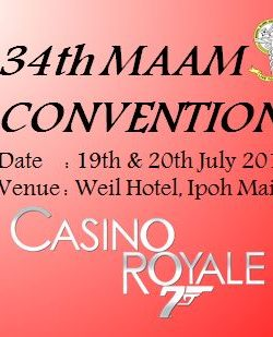34th Manipal Alumni Convention and AGM – Ipoh,Perak.