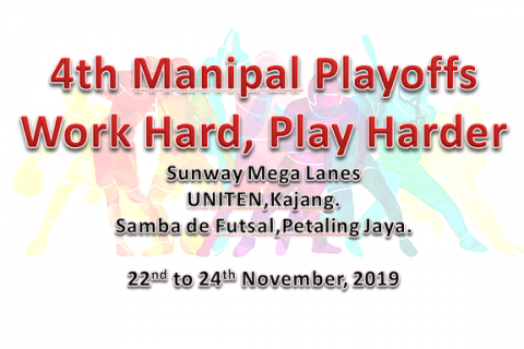 4th Manipal Playoffs – Work Hard, Play Harder