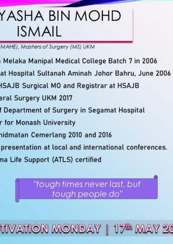 Dr Illyasha Mohd Ismail