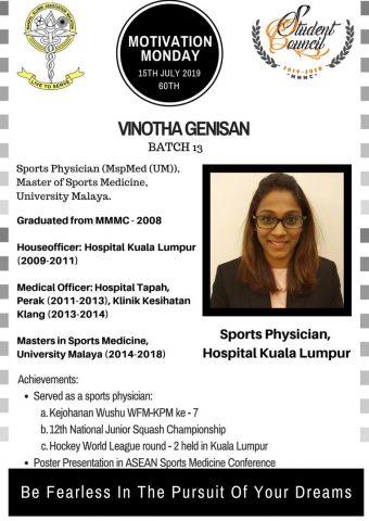 Dr Vinotha Genisan