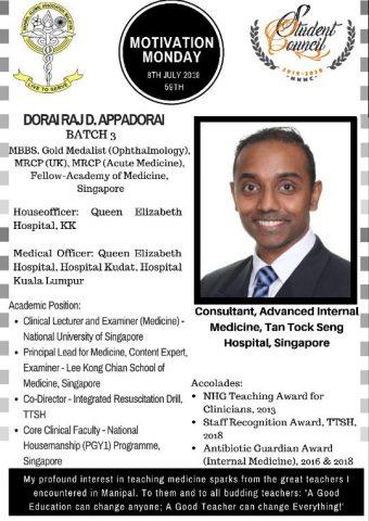 Dr.Dorai Raj D.Appadorai