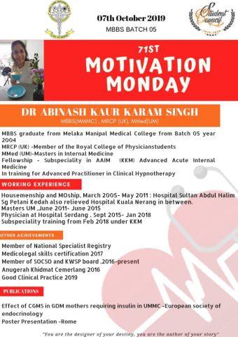 Dr Abinash Kaur