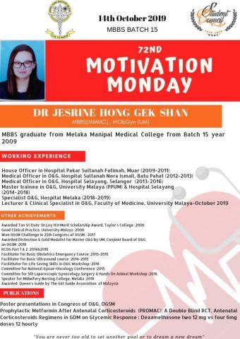 Dr Jesrine Hong