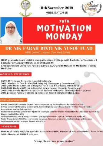 Dr Nik Farah