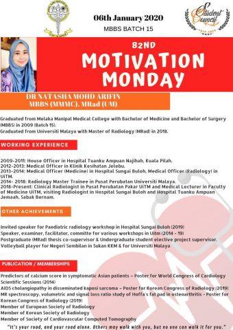 Dr Natasha Mohd Afifin