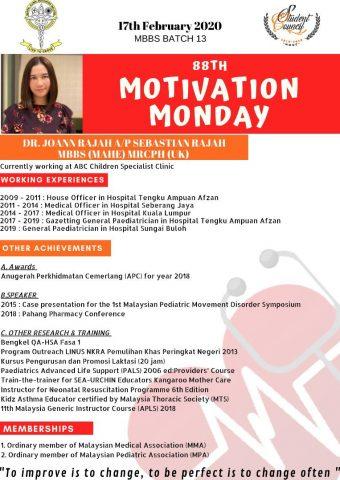 Dr Joann Rajah