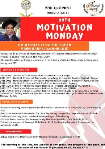 Dr Masniza Izani