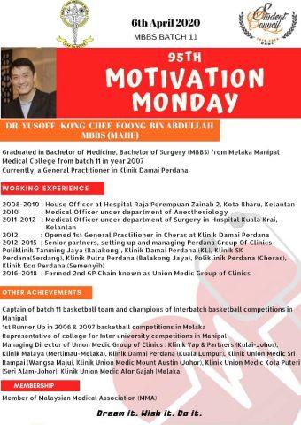 Dr Yusof Kong Chee Foong