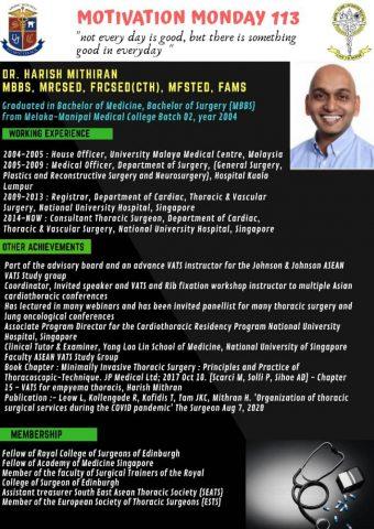 Dr Harish Mithiran