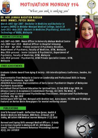 Dr Nor Jannah Nasution Raduan