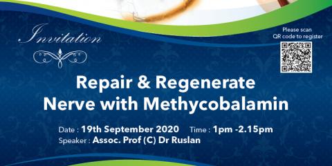 Repair & Regenerate Nerve with Methycobalamin