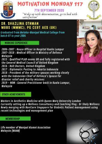 Dr Shazlina Othman