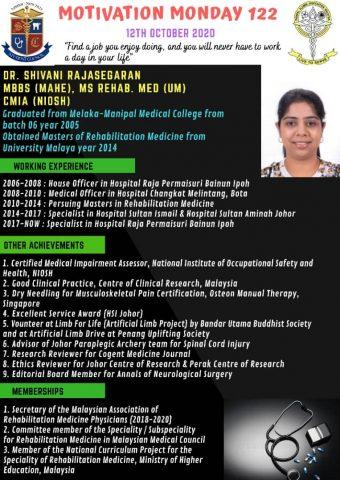 Dr Shivani Rajasegaran